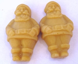 Maple Candy Santas Pair
