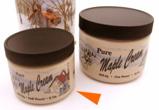 Pure Maple Cream, 1/2 lb. tub