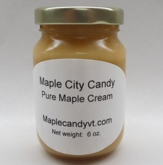 Pure Maple Cream, 6 oz. glass jar