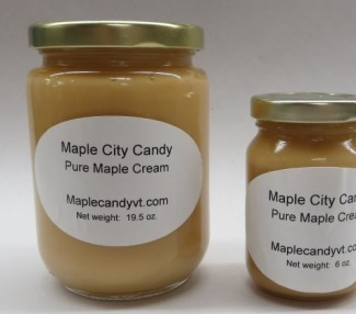Pure Maple Cream, 19.5 oz. glass jar