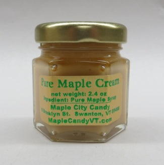 Pure Maple Cream 2.4 oz. Sampler jar