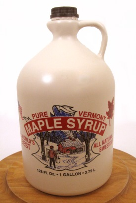 Pure Maple Syrup Gallon Jug, 128 oz.