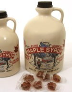 Pure Maple Syrup 1/2 Gallon Jug, 64 oz.