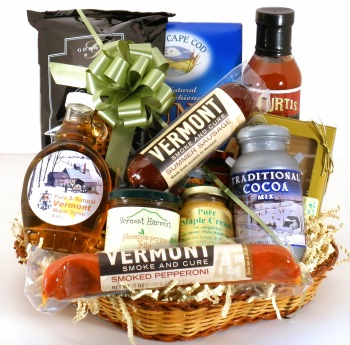 Build a Vermont Gift Basket
