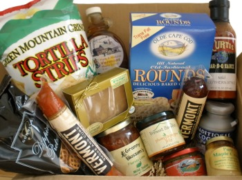 Assorted Vermont Specialty Foods Box
