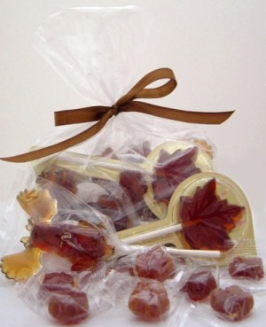 Hard Maple Candy POPS & DROPS