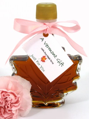 maple syrup leaf vermont wedding favor
