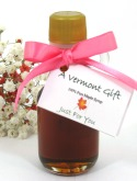Maple Syrup Mini-Bottle Vermont Wedding Favor