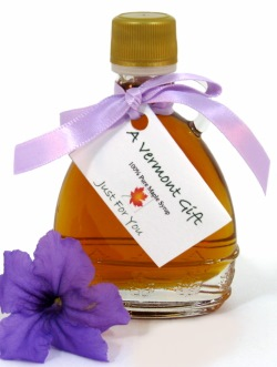 Maple Syrup Umbrella Vermont Wedding Favor