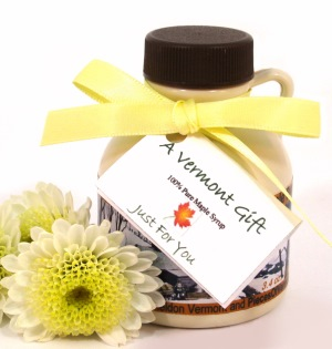 Maple Syrup Mini-Jug Vermont Wedding Favor