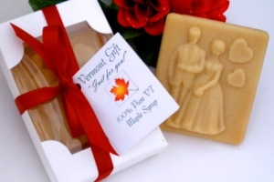 Maple Candy Bride & Groom Vermont Wedding Favor