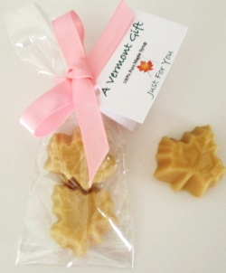 Maple Leaf Candies Vermont Wedding Favor