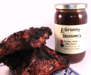Smoky Apple Barbecue Sauce, 15 oz.