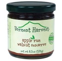 Vermont Harvest Apple Rum Walnut Conserve, 8.3 oz. jar