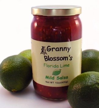 Florida Lime MILD Salsa, 15 oz. jar