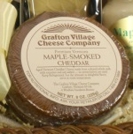Maple-Smoked Cheddar, 1/2 lb. wheel
