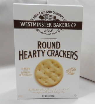 Westminster Round Hearty Crackers, 7 oz. box