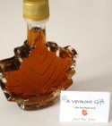 Vermont Maple Syrup Leaf Nip