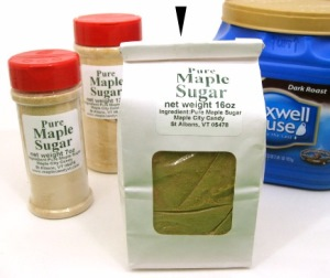 Pure Maple Sugar, 16 oz. (1 lb.) package