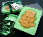 Halloween Chocolate-Maple Frankenstein Candy