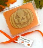 Halloween Chocolate-Maple Pumpkin Candy