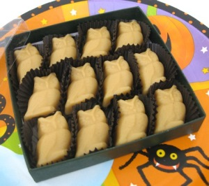 Halloween 12-piece Owls Maple Sugar Candy Gift Box